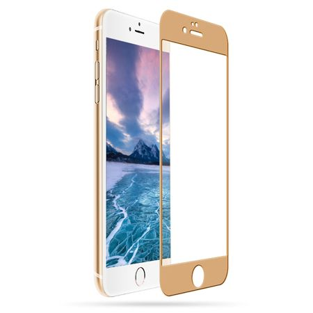 TEMPERED GLASS 5D für iPhone 6/6s gold